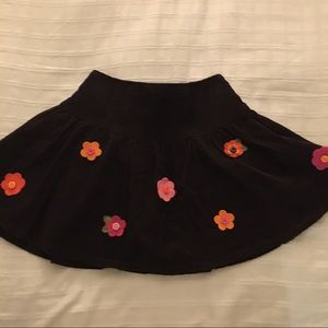 Girls Size 4 Gymboree Corduroy Skirt